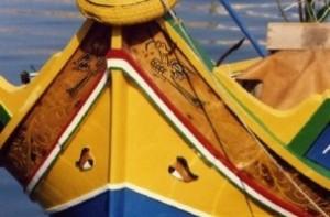 Barco típico de Malta