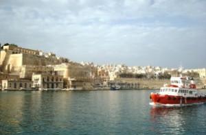 Malta desde el agua