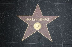Estrella Marilyn Monroe en Hollywood