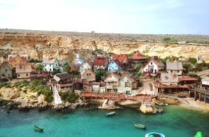 El pueblo de Popeye en Malta
