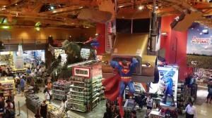 La famosa Toys'r'us de Times Square con un T-Rex gigante