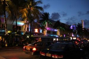 Ocean Drive de noche