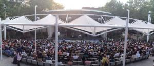 El teatro lleno mientras se representa la obra. Foto: Facebook oficial de TCToH